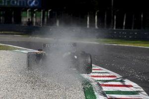Daniel Ricciardo, Renault F1 Team R.S.20, sobre la grava
