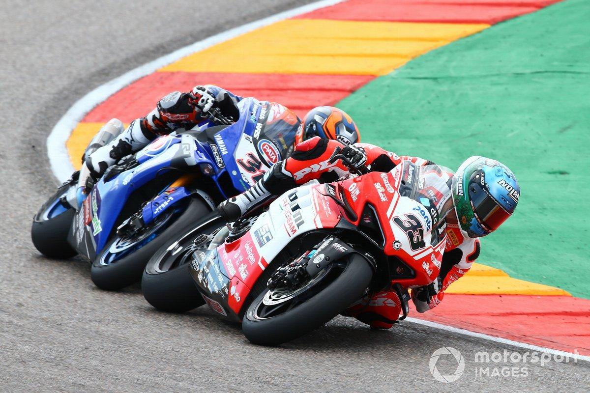 Marco Melandri, Barni Racing Team, Garrett Gerloff, GRT Yamaha
