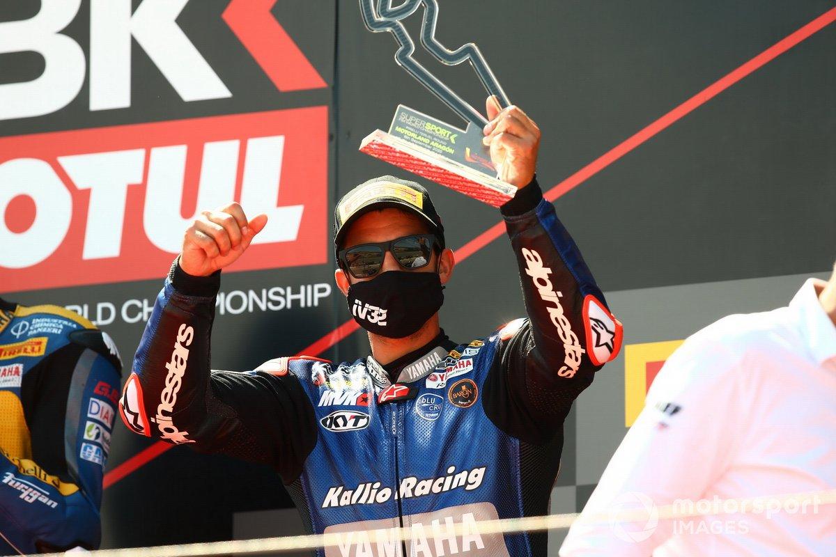 Podio: Isaac Viñales, Kallio Racing