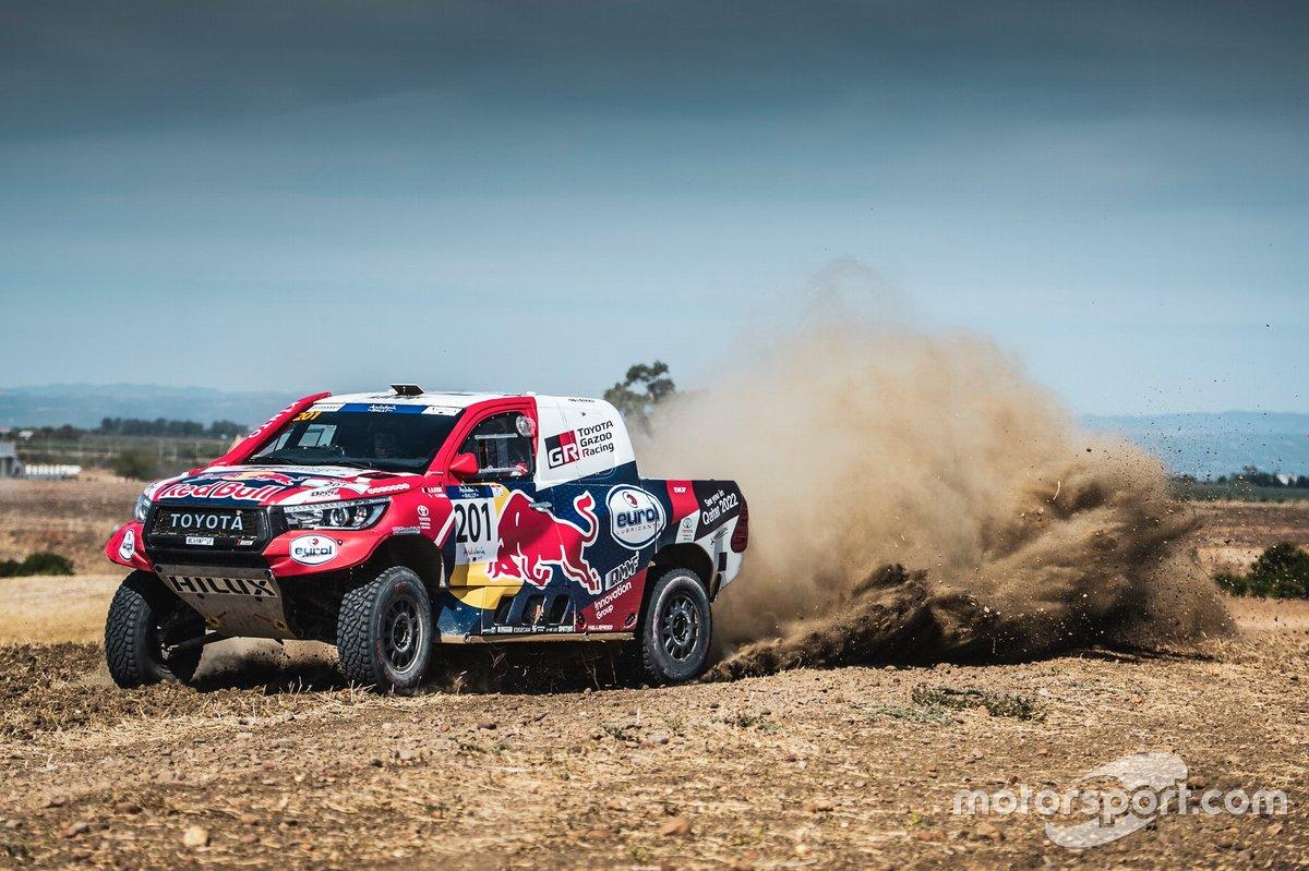 Nasser Al-Attiyah, Mathieu Baumel, Toyota
