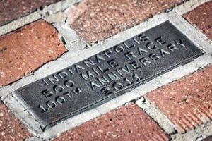 Yard of Bricks am Indianapolis Motor Speedway