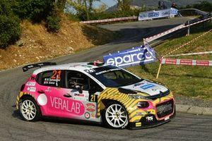 Rachele Somaschini, Nicola Arena, RS Team, Citroen C3 Rally2