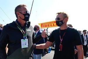 Tom Garfinkel, Miami GP managing partner, and Prince Bernhard of Orange-Nassau on the grid