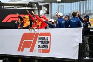 The drivers parade