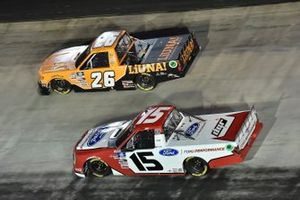 Tyler Ankrum, GMS Racing, Chevrolet Silverado LiUNA!, Tanner Gray, Team DGR, Ford F-150 Ford Performance