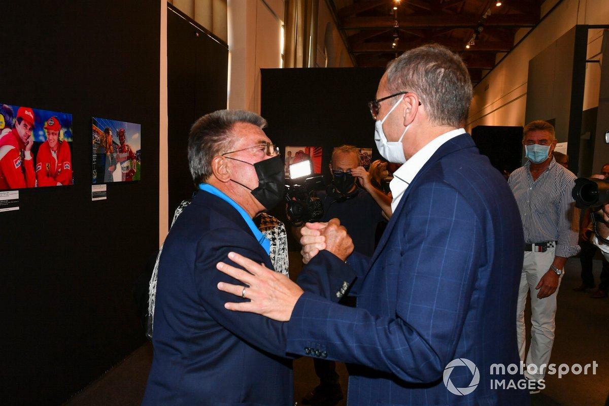 Rainer Schlegelmilch y Stefano Domenicali