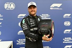 Pole sitter Valtteri Bottas, Mercedes