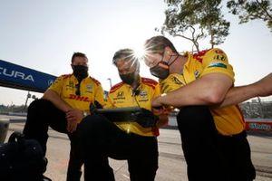 Des membres de l'équipe de Ryan Hunter-Reay, Andretti Autosport Honda
