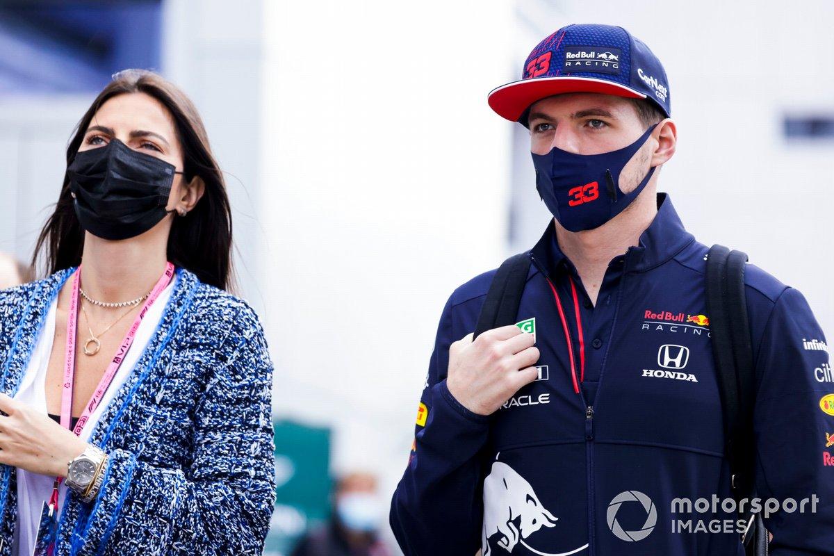 Kelly Piquet y Max Verstappen, Red Bull Racing