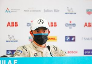 Nyck de Vries, Mercedes Benz EQ, second position, in the Press Conference