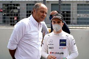 Lucas Auer, Mercedes AMG Team Winward, mit Onkel Gerhard Berger