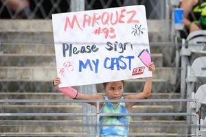 Marc Marquez, Repsol Honda Team fan, Grand Prix of the Americas 2 October 2021