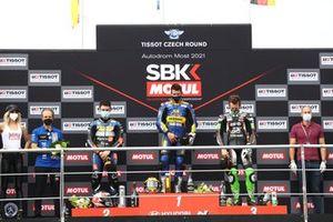 Manuel Gonzalez, Yamaha ParkinGO Team, Steven Odendaal, Evan Bros. WorldSSP Team, Philipp Oettl, Kawasaki Puccetti Racing
