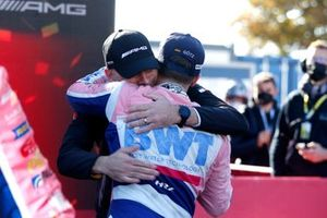 Champion podium: Maximilian Götz, Haupt Racing Team with Stefan Wendl, Head of AMG Customer Racing