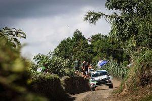 Norbert Herczig, Ramón Ferencz, Skoda Fabia Rally2 evo