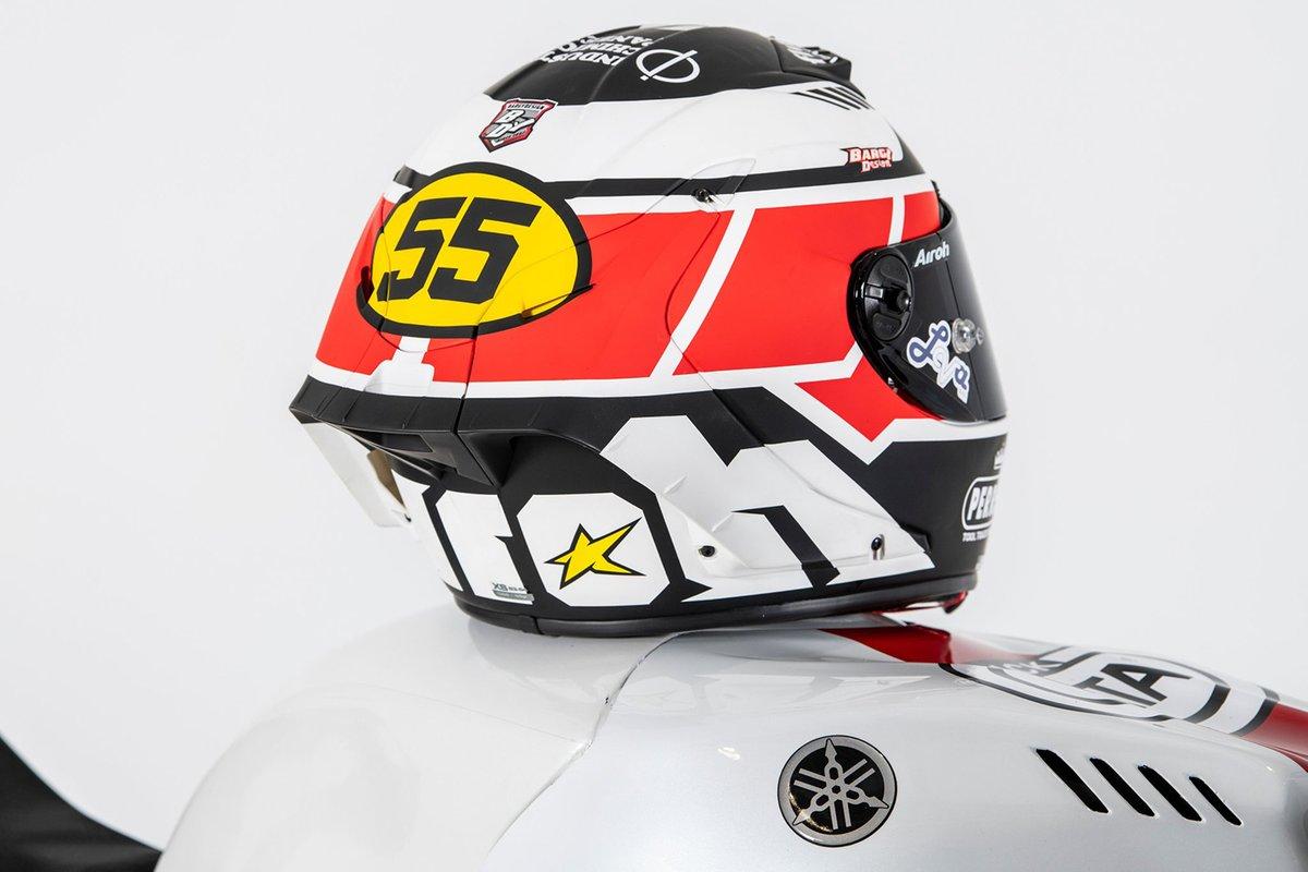Casco di Andrea Locatelli, PATA Yamaha WorldSBK Team