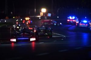 Crash: #1 Richard Mille Racing Team Oreca 07 - Gibson LMP2, Tatiana Calderon, Sophia Flörsch, Beitske Visser