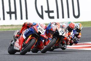 Leon Haslam, Team HRC, Michael Ruben Rinaldi, Aruba.It Racing - Ducati