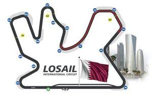 Mapa del circuito de Losail