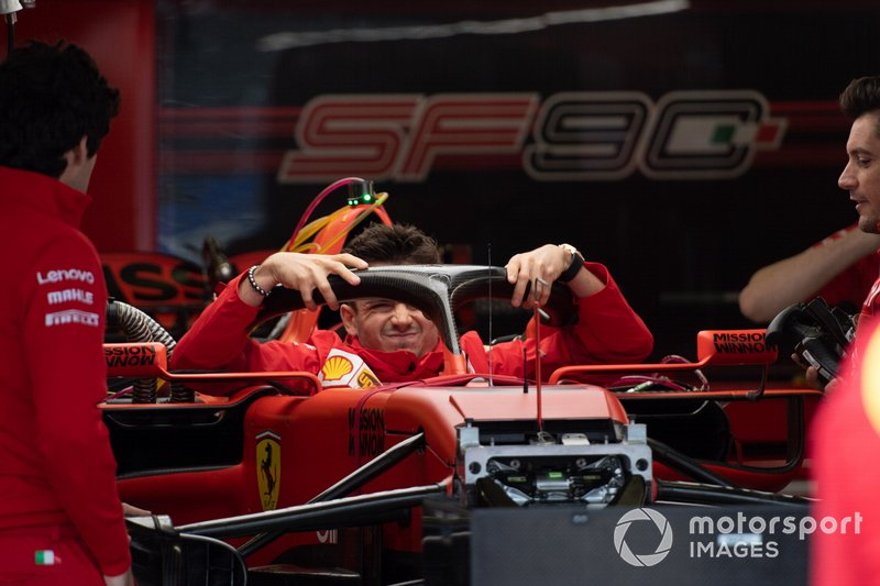 Charles Leclerc, Ferrari in the Ferrari SF90