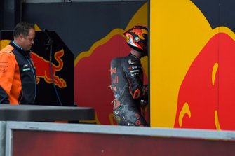 Pol Espargaro, Red Bull KTM Factory Racing after his crash