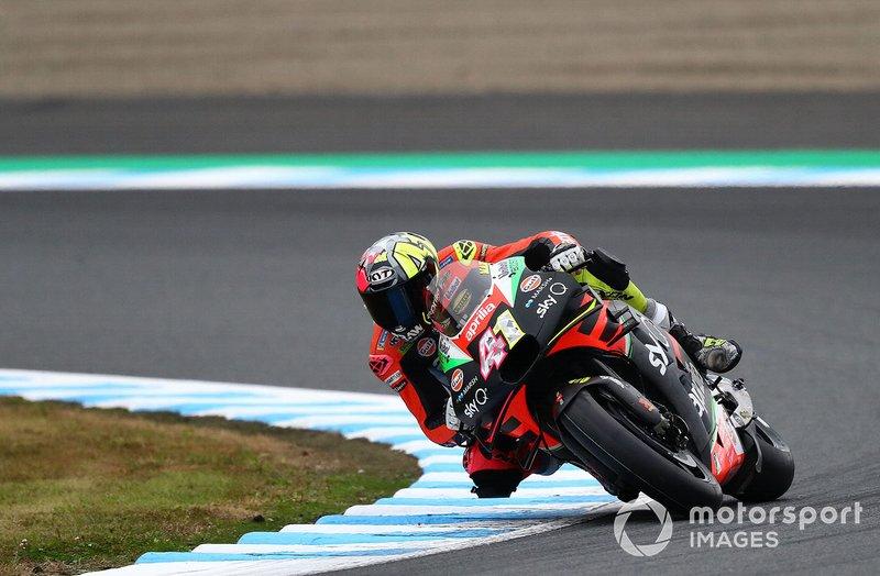 Aleix Espargaro, Aprilia Racing Team Gresini - 10 caídas