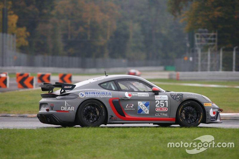 #251 Porsche Cayman GT4, Ebimotors Srl: Riccitelli-De Castro
