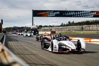 Andre Lotterer, Porsche, Porsche 99x Electric sort des stands