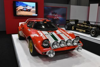 Lancia Stratos on the Autosport stand