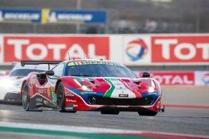 #51 AF Corse Ferrari 488 GTE Evo: James Calado, Alessandro Pier Guidi