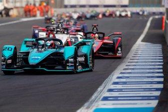 Mitch Evans, Jaguar Racing, Jaguar I-Type 4 Sébastien Buemi, Nissan e.Dams, Nissan IMO2