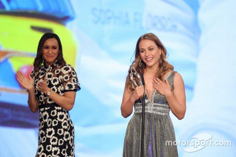 Sophia Floersch, ganadora del premio Regreso del Año en los Laureus 2020