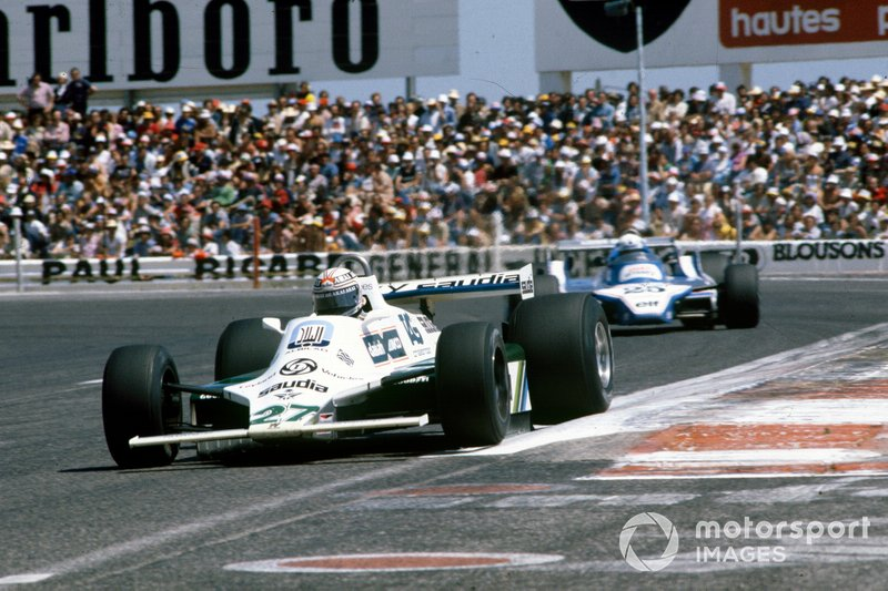 1980 – 7 piloti francesi in griglia, Jones batte i due Ligier