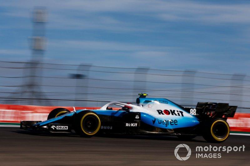 Robert Kubica, Williams FW42 - Trening 2