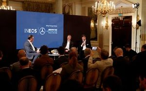 السير جيم راتكليف، رئيس شركة آينيوس وتوتو وولف، الرئيس التنفيذي لفريق مرسيدس