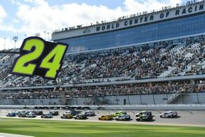Startnummer 24 von William Byron, Hendrick Motorsports, in Daytona