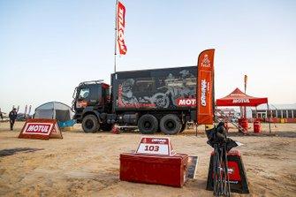 Motul Racing Lab truck