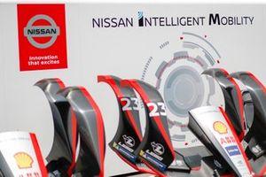 Nose cones of Sébastien Buemi, Nissan e.Dams, Nissan IMO2