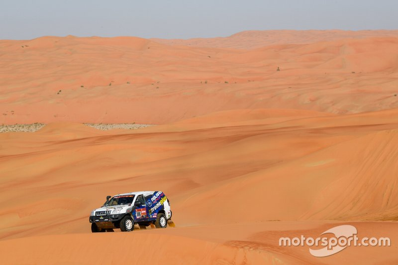 #386 XtremePlus Polaris Factory Team Toyota: Marco Piana, William Alcaraz