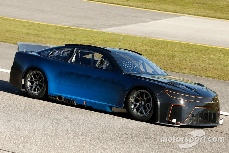 NASCAR Next-Gen-Car beim Test in Homestead
