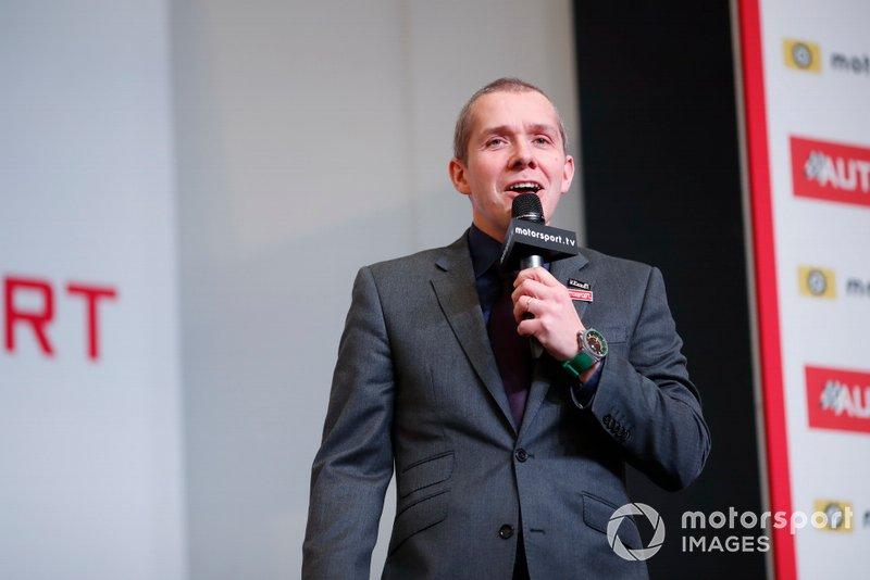 Presenter Stuart Codling