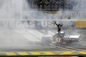 Race Winner: Kyle Busch, Kyle Busch Motorsports, Toyota Tundra