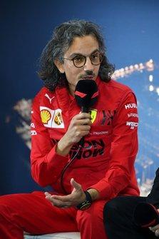 Laurent Mekies, Sporting Director, Ferrari in the press conference