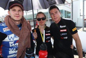 Danny Webb, WRP Wepol Racing, mit James Toseland