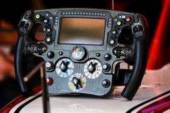 Il volante dell' Alfa Romeo Racing C39