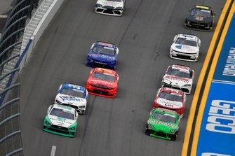 Austin Cindric, Team Penske, Ford Mustang MoneyLion and Brandon Jones, Joe Gibbs Racing, Toyota Supra Interstate Batteries