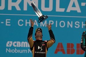 Podium: second place Felix da Costa, DS Techeetah