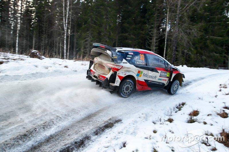 4. Rally de Suecia 2020: 124,28 km/h