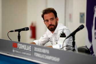 Jean-Eric Vergne, DS Techeetah in conferenza stampa