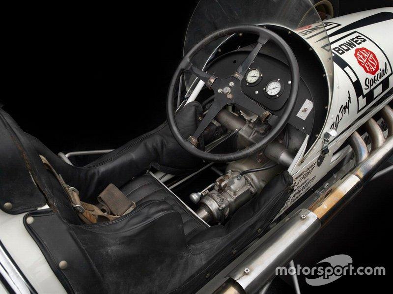 1958 Watson Dirt Sprint Car Cockpit